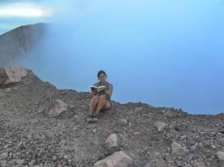 NICARAGUA, Active volcano Teilca