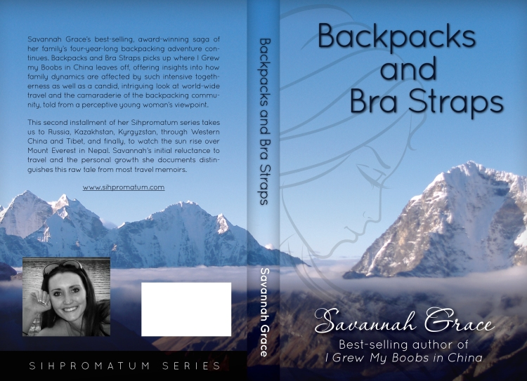 Backpacks and Bra Straps Cover 5.5x8.5