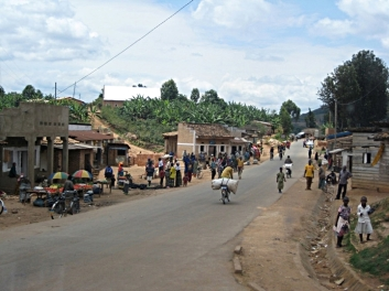 small town life, Burundi