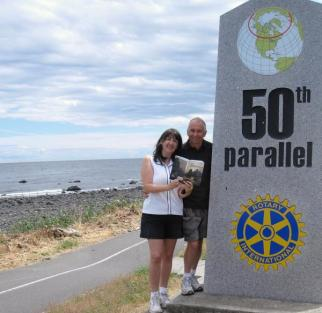 CANADA - 50th Parallel in Campbell River