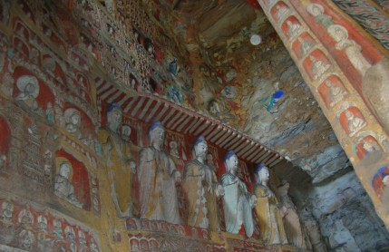 """""""1,500 years old and are still mostly in good shape. Some even still have paint!"""