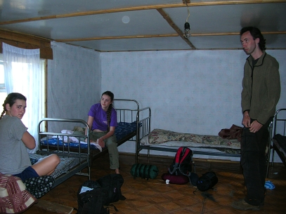 Tonight our accommodation was not a ger but a wooden shelter with a couple of rooms. Our family shared a room with four metal-framed beds, the ceilings so low that Ammon was forced to lower his head in order to stand.