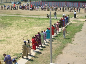 Nadaam women's archery competition, UB