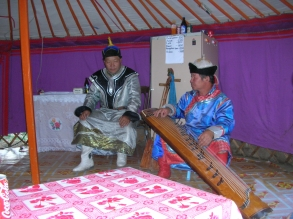 traditional Mongolian musicians