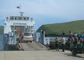 Ferry to Olkhen Island