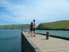Savannah and Ammon - Lake Baikal
