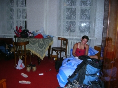 Our room in Irkutsk