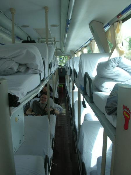 China sleeper bus