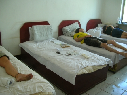 An afternoon nap, Dunhuang