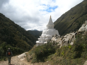 One of many stupas