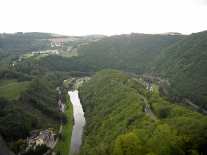 View from Vianden Castle