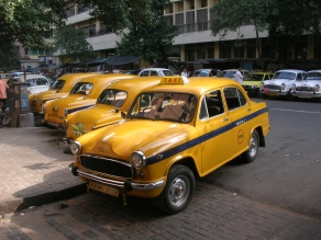 You got to love the Taxi, Kolkata