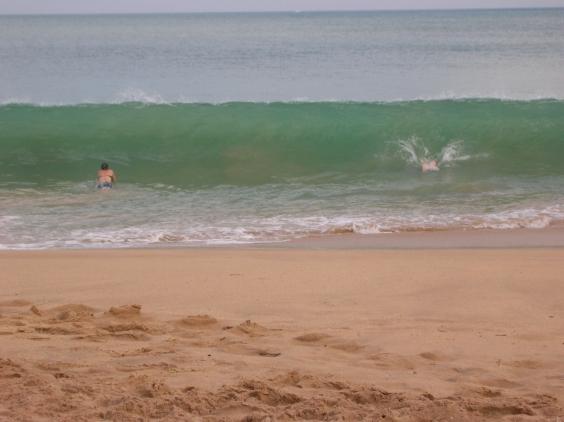 Warm swimming - Tangalla