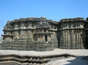 Jain Temple in Halebid