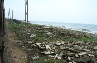 Ruins after Tsunami