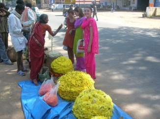 buying flower - Mysore