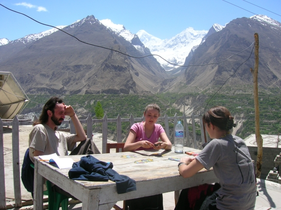 Karimabad, Hunza valley.