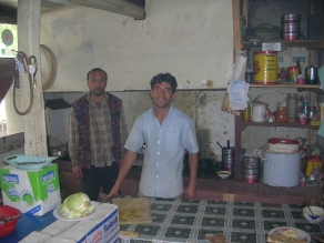 The kitchen and our cooks