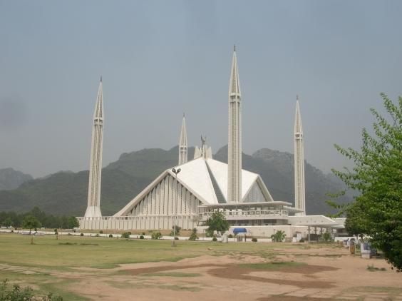 Faisal mosque. Islamabad