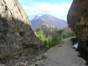 Baltit fort, Hunza.