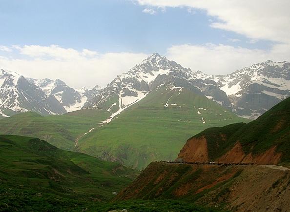 Fan mountains