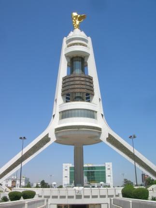 Neutrality Arch, Ashgabat.