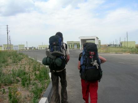 Oybek border post border