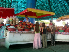 Fruit shopping - Tashkent