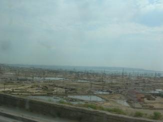 Derricks in Azerbaijan