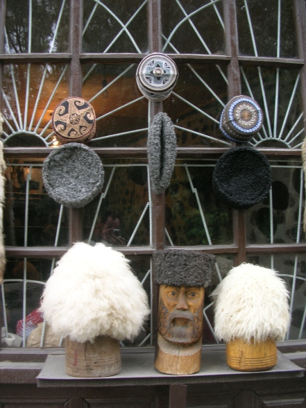 Sheepskin hats called Papakha – Seki, Azerbaijan