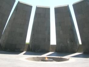 Tsitsernakaberd Armenian Genocide Memorial Museum in Yerevan.