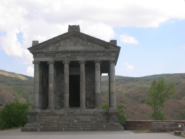 The only surviving Pagan Temple in Armenia