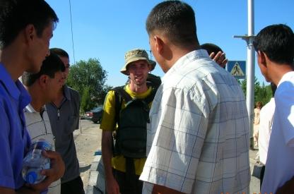 Taxi drivers verses Ammon - Ashgabat