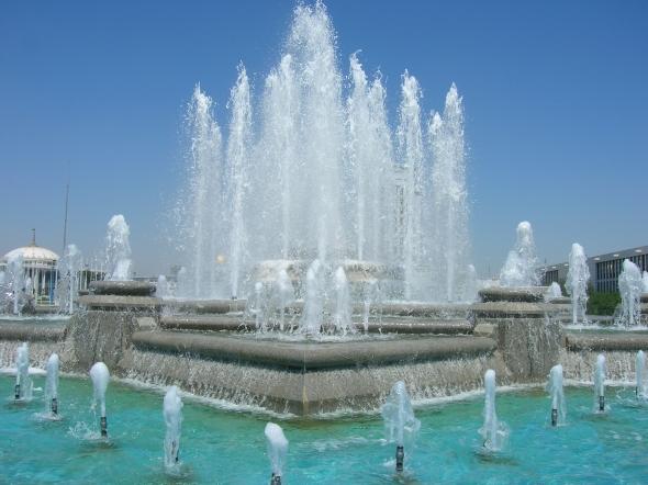Pristine fountain