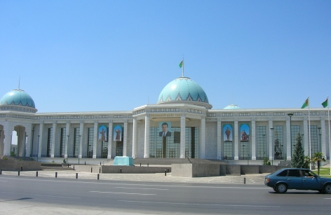 Presidential palace, Ashgabat
