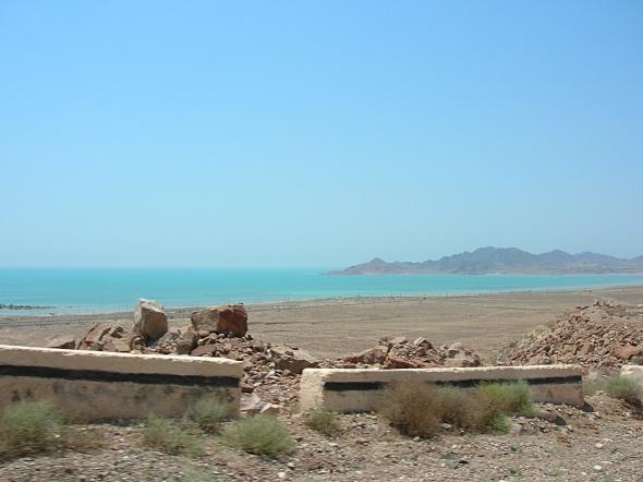The Caspian sea, Turkmenbashi
