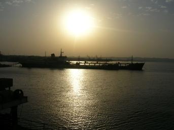 Caspian Sea voyage. Azerbaijan