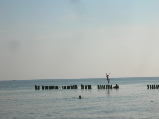 Bre being Bre - Baltic Sea