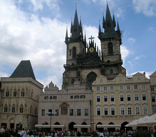 The Church of Our Lady before Týn,