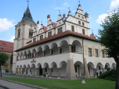 Levoca town hall.
