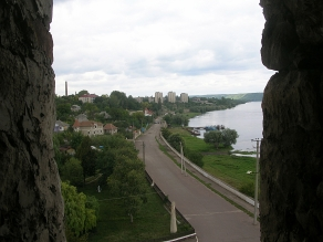 view from fortress - Soroca