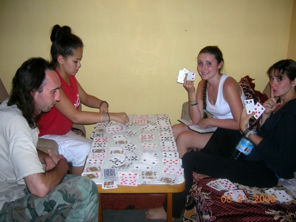 A four deck game