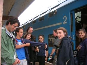 Brasov train to Sinai