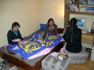 Staying with hosts in Sofia