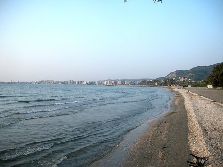 Vlora coast line. Albania
