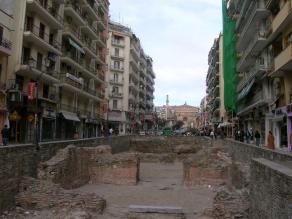 Ruins in Thessaloníki