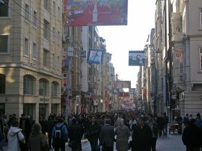 Istiklal street, Istanbul