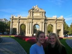 Alcala arch, Madrid