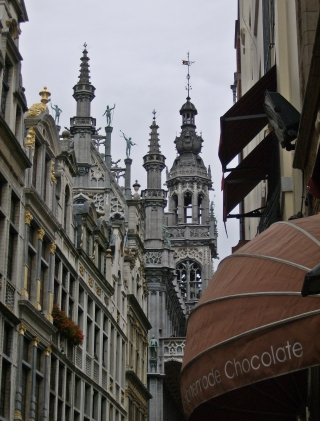 Brussels Historic Center.Belgium