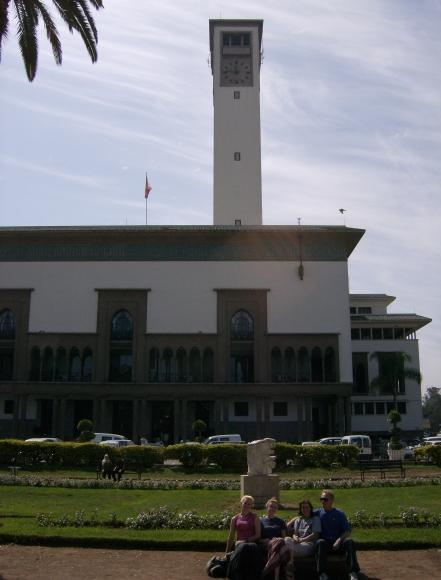 Casablanca town hall. Morocco
